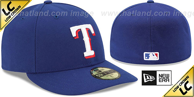 Rangers 'LOW-CROWN' GAME Fitted Hat by New Era