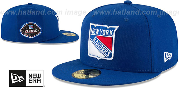 Rangers 'TEAM-SUPERB' Royal Fitted Hat by New Era