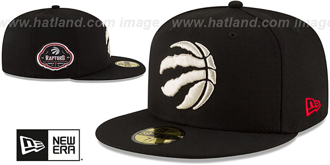 Raptors 'TEAM-SUPERB' Black Fitted Hat by New Era