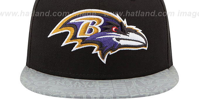 Ravens '2014 NFL DRAFT' Black Fitted Hat by New Era
