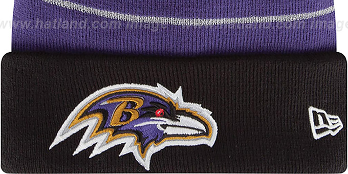 Ravens 'THANKSGIVING DAY' Knit Beanie Hat by New Era