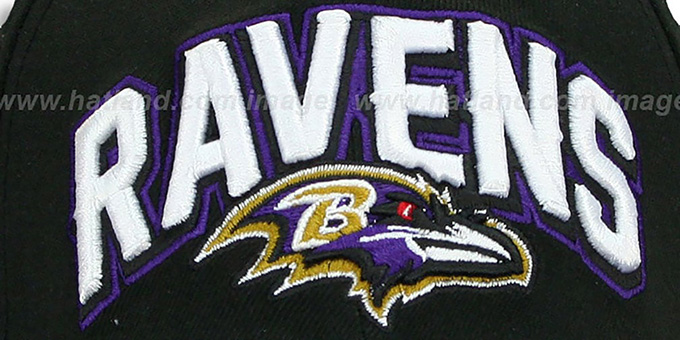 Ravens 'FG DRAFT FLEX' Black Hat by New Era