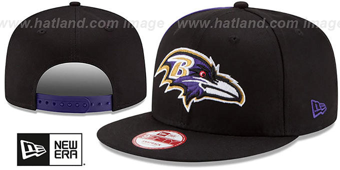 Ravens 'PANEL PRIDE SNAPBACK' Hat by New Era