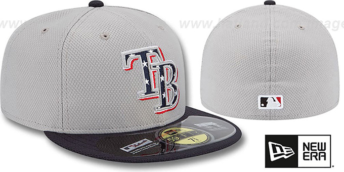 Rays 2013 'JULY 4TH STARS N STRIPES' Hat by New Era