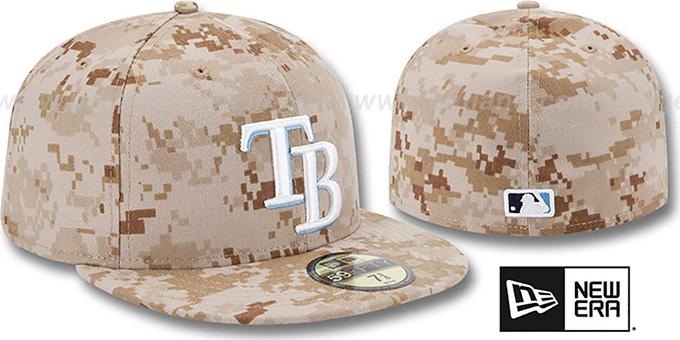 new styles 51f00 e68db ... Rays 2013  STARS N STRIPES  Desert Camo Hat by New Era ...
