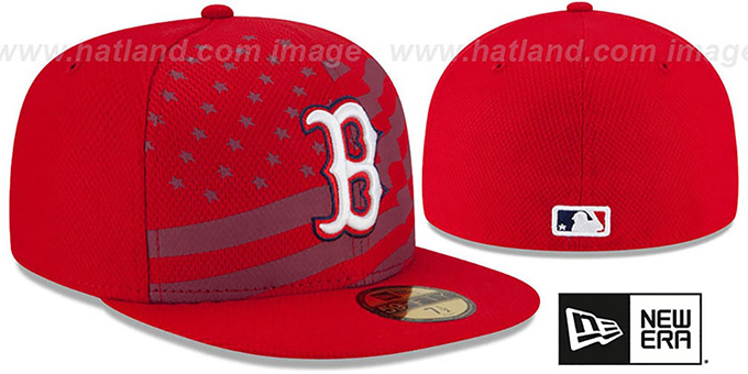 Red Sox '2015 JULY 4TH STARS N STRIPES' Hat by New Era