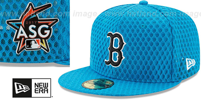 Red Sox '2017 MLB HOME RUN DERBY' Blue Fitted Hat by New Era