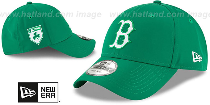 Red Sox '2018 ST PATRICKS DAY 940 STRAPBACK' Hat by New Era