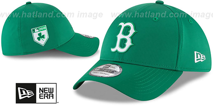 Red Sox '2018 ST PATRICKS DAY FLEX' Hat by New Era