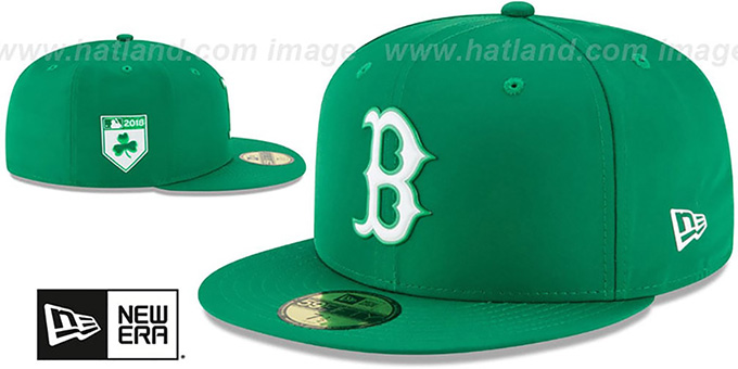 Red Sox '2018 ST PATRICKS DAY' Hat by New Era