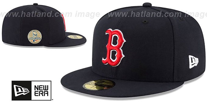 ... Red Sox  2018 WORLD SERIES  CHAMPIONS GAME Hat by New Era ... 966f64f7014