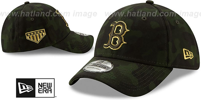 70e975bfe58a38 ... Red Sox 2019 ARMED FORCES 'STARS N STRIPES FLEX' Hat by New Era ...