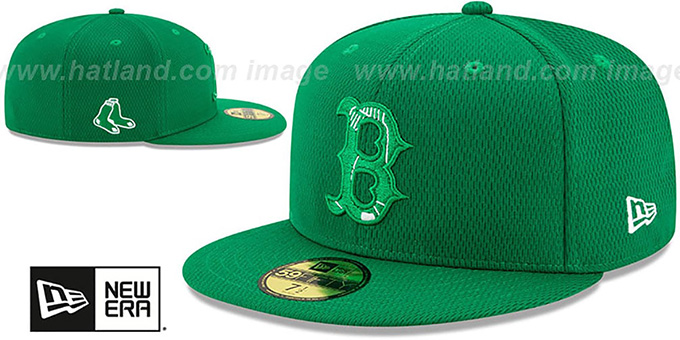 Red Sox 2020 'ST PATRICKS DAY' Fitted Hat by New Era