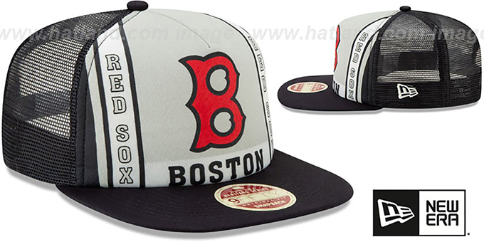 Red Sox 'BANNER FOAM TRUCKER SNAPBACK' Hat by New Era
