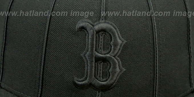 Red Sox 'BLACKOUT 12-PACK' Fitted Hat by New Era