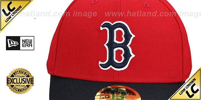 Red Sox 'LOW-CROWN 1975-78 COOPERSTOWN' Fitted Hat by New Era
