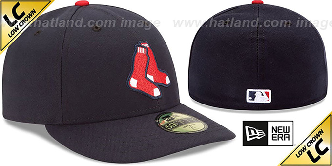 Red Sox 'LOW-CROWN' ALTERNATE Fitted Hat by New Era