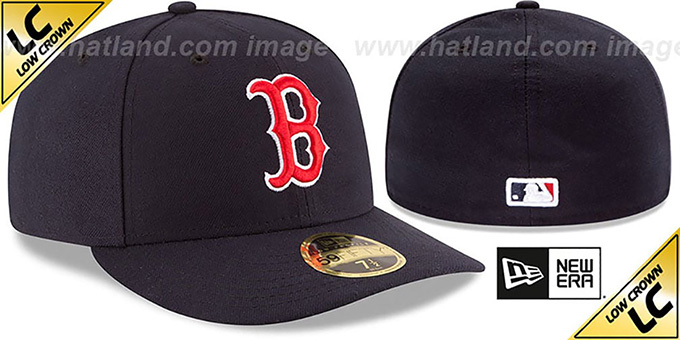 Red Sox '2017 LOW-CROWN ONFIELD GAME' Fitted Hat by New Era