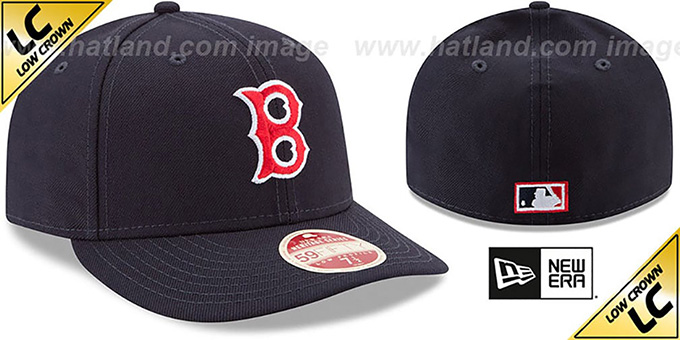 ... official youtube red sox low crown vintage fitted hat by new era 80c05  24934 494fd07c7063