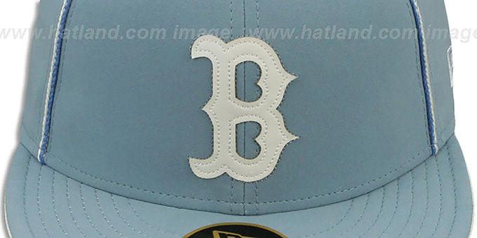 Red Sox 'SKY BLUE DaBu' Fitted Hat by New Era