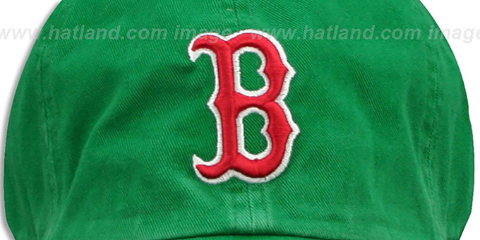Red Sox 'ST PATS FRANCHISE' Green Hat by Twins 47 Brand