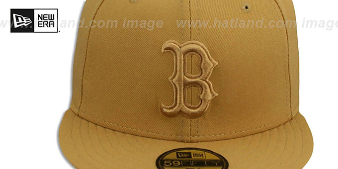 Red Sox 'WHEATOUT' Fitted Hat by New Era