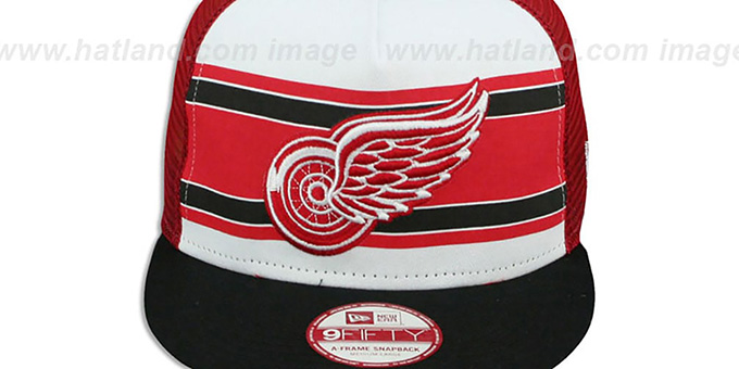 Red Wings 'BAND-SLAP SNAPBACK' Hat by New Era