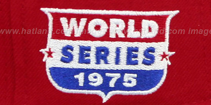 Reds 1975 'WORLD SERIES CHAMPS' GAME Hat by New Era
