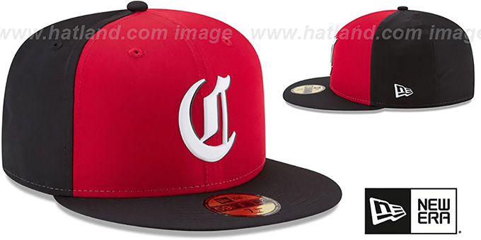 Reds '2018 PROLIGHT-BP' Red-Black Fitted Hat by New Era
