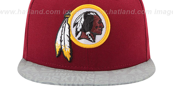 Redskins '2014 NFL DRAFT' Burgundy Fitted Hat by New Era