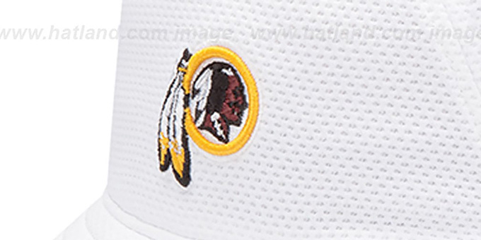 White Redskins Bucket Hat Bucket' White Hat by New