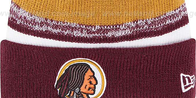 Redskins '2014 THROWBACK STADIUM' Knit Beanie Hat by New Era