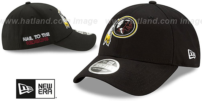 Redskins '2020 NFL VIRTUAL DRAFT STRETCH-SNAP' Black Hat by New Era