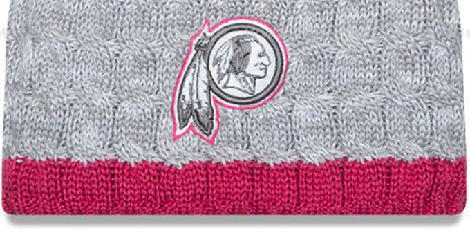 Redskins 'WOMENS 2015 BCA' Knit Beanie Hat by New Era