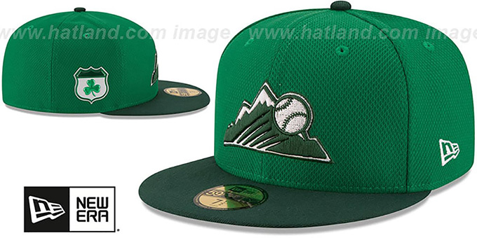 Rockies 2017 'ST PATRICKS DAY' Hat by New Era