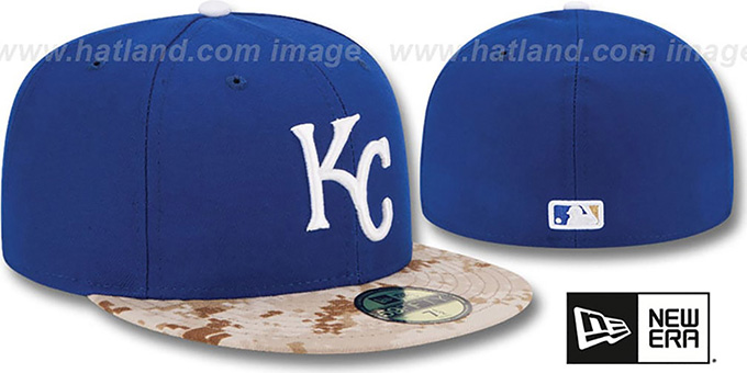 Royals '2015 STARS N STRIPES' Fitted Hat by New Era