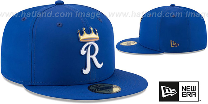 Royals '2018 PROLIGHT-BP' Royal Fitted Hat by New Era