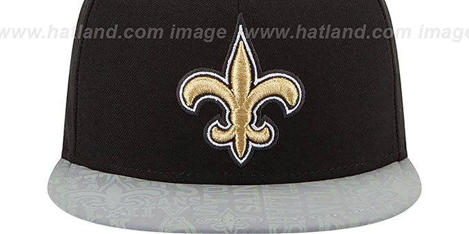 Saints '2014 NFL DRAFT' Black Fitted Hat by New Era