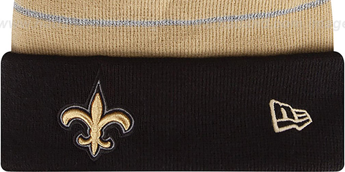 Saints 'THANKSGIVING DAY' Knit Beanie Hat by New Era