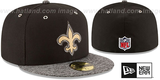 Saints '2016 NFL DRAFT' Fitted Hat by New Era