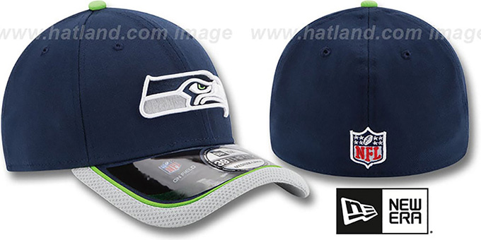 Seahawks '2014 NFL STADIUM FLEX' Navy Hat by New Era