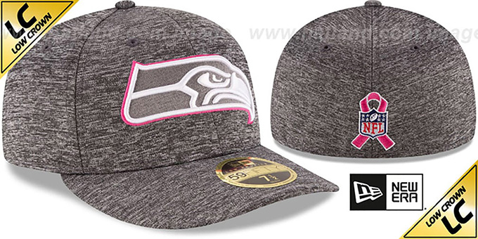 Seahawks '2016 LOW-CROWN BCA' Grey Fitted Hat by New Era