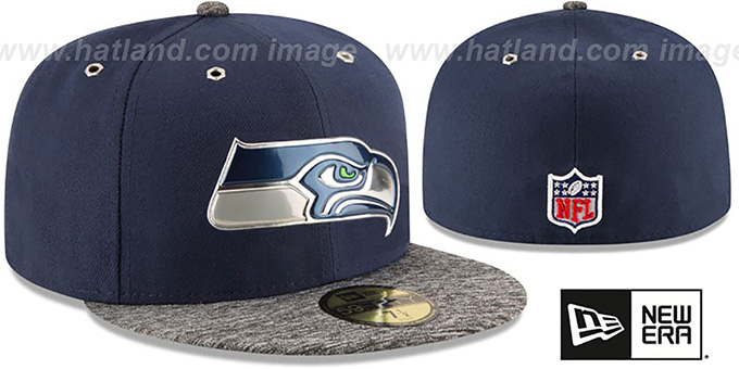 Seahawks '2016 NFL DRAFT' Fitted Hat by New Era