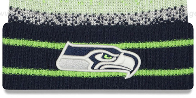 Seahawks 'SPEC-BLEND' Knit Beanie Hat by New Era