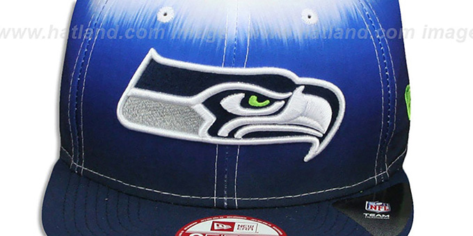 d3371be1f ... Seahawks  SUBLENDER SNAPBACK  Navy-White Hat by New Era ...