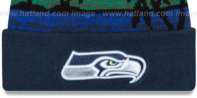 a0d601f29c5 Seattle Seahawks WINTER BEACHIN Knit Beanie Hat by New Era