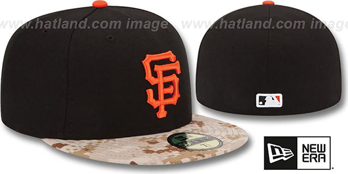 SF Giants '2015 STARS N STRIPES' Fitted Hat by New Era