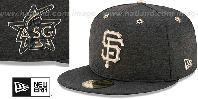2f038366c6d083 ... SF Giants '2017 MLB ALL-STAR GAME' Fitted Hat by New Era ...