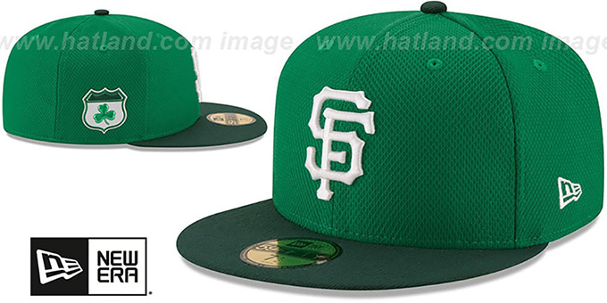 brand new e22c0 47236 San Francisco SF Giants 2017 ST PATRICKS DAY Hat by New Era