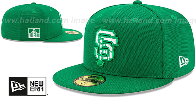 SF Giants 2020 'ST PATRICKS DAY' Fitted Hat by New Era